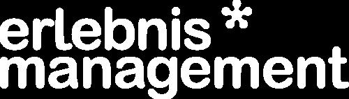 Erlebnismanagement logo white footer