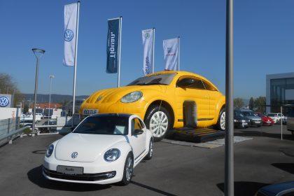 Hüpfburg VW Beetle, Auto, aufblasbares Auto, Kinder