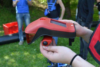 Lasertag pistole