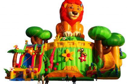 playground lion gigant