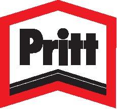 Pritt logo red outline