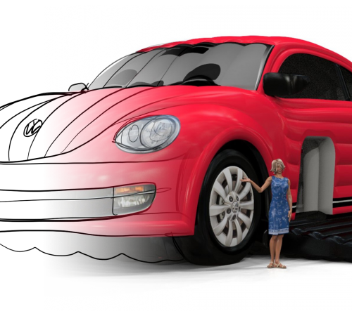 Vw beetle morph